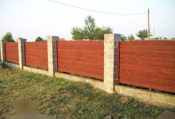 Забор своими руками дешево и красиво фото в частном доме